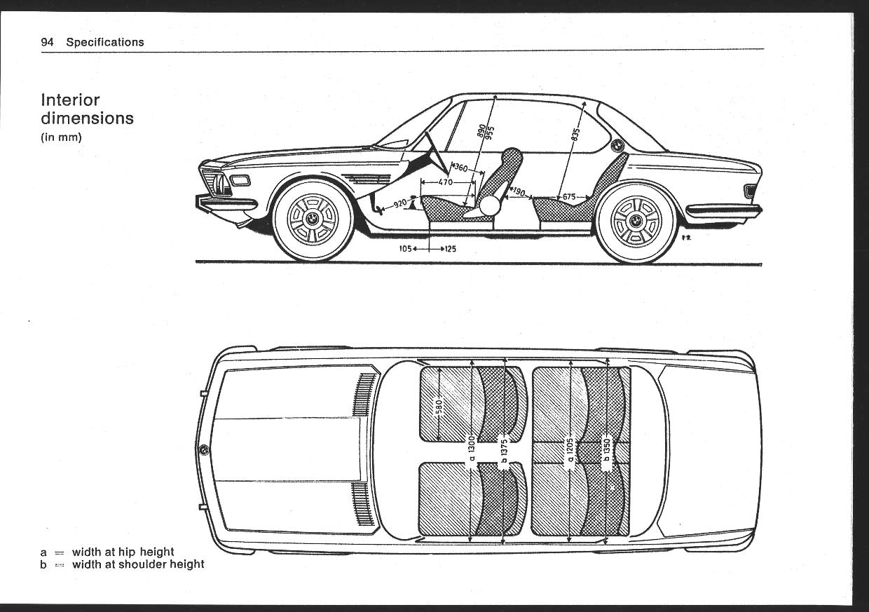 car drawing top and side p_094